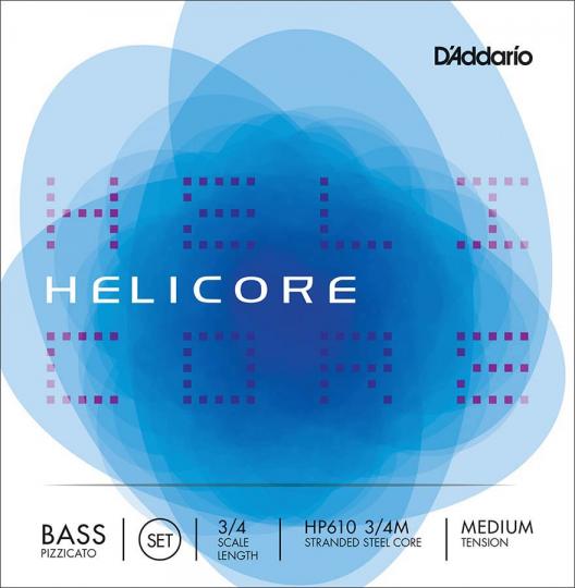 D´ADDARIO  Helicore Set snaren contrabas  - HP, medium