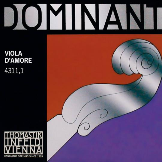 "THOMASTIK Dominant Viola D´Amore  D"" snaar"