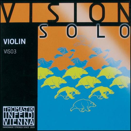 Thomastik Vision Solo, D-snaar voor viool, medium