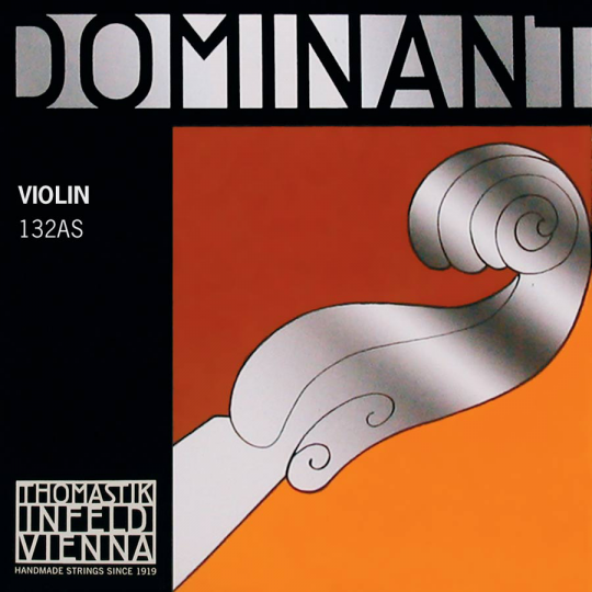 THOMASTIK  Dominant D- snaar voor 4/4 viool, zilver, hard