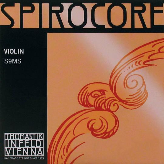 THOMASTIK  Spirocore E- snaar voor viool met lusje, alu