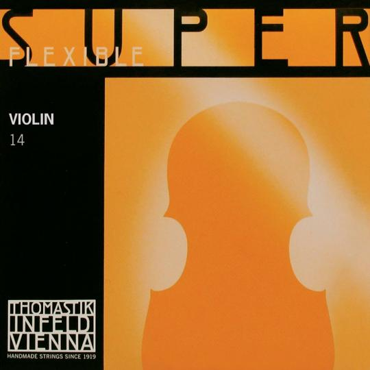 THOMASTIK  Superflexible G-snaar voor viool, zilver, medium