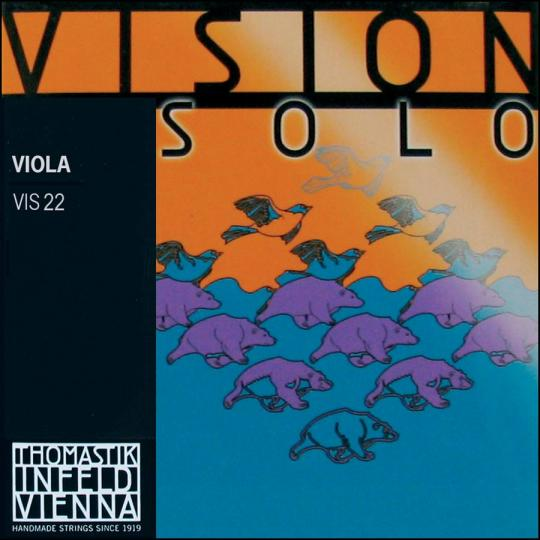 Thomastik Vision Solo, D-snaar voor altviool, medium
