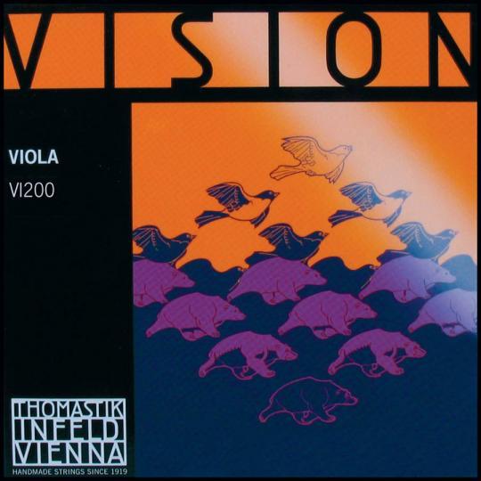 THOMASTIK Vision Set voor altviool, chroom, medium