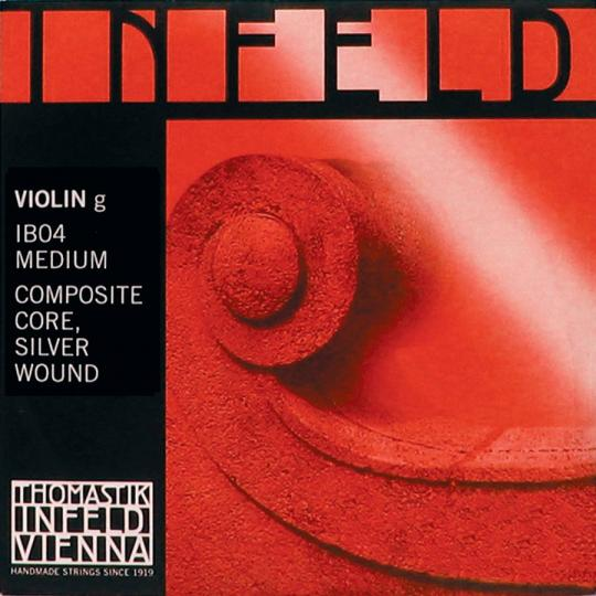 THOMASTIK  Infeld red G- snaar, zilver