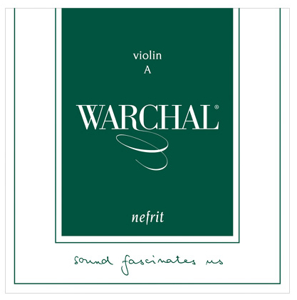 WARCHAL Nefrit G- snaar voor viool, staal, medium
