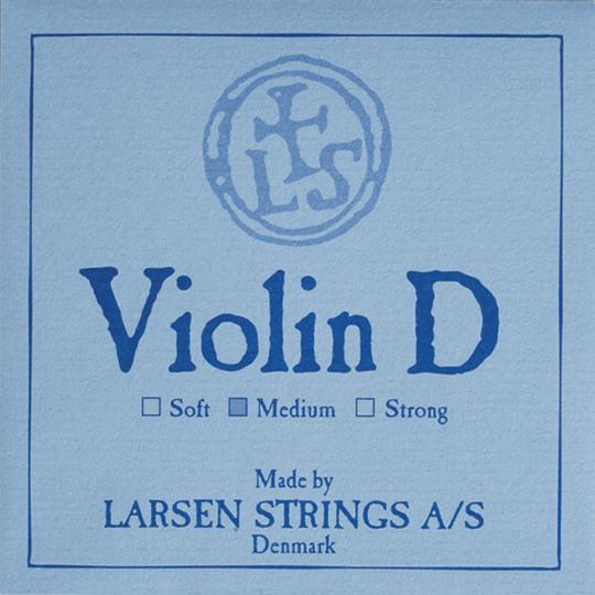 LARSEN Violin D-snaar, soft