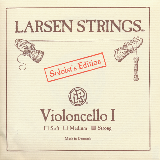 LARSEN Cello Soloist A-snaar, strong