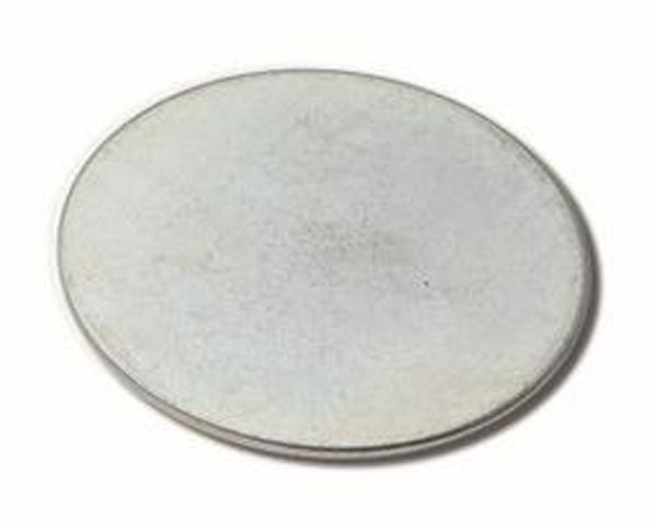Metaalplaatje 40 mm