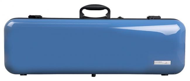Gewa Vioolkoffer Air 2.1, blauw hoogglans