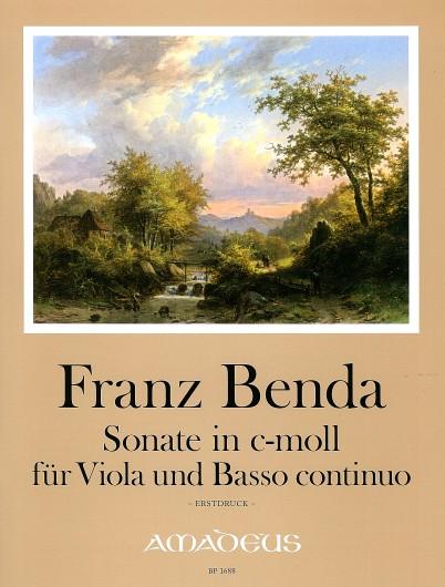 Benda, Sonate in c-moll