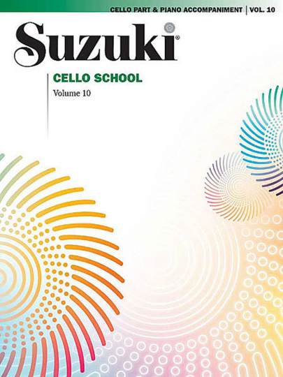 Suzuki methode cello, Boek 10