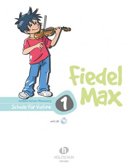 Fiedel-Max Vioolschool , Audio-CD deel 1