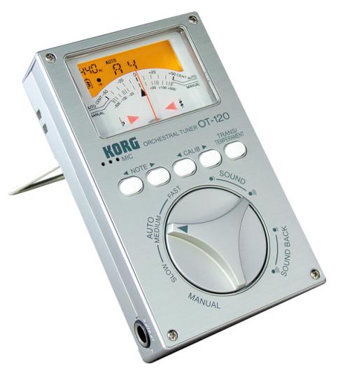 Korg OT-120 - Chromatisch stemapparaat