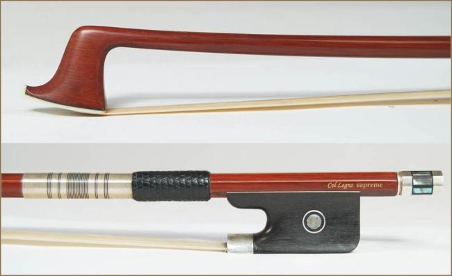Col Legno Supreme, strijkstokken cello 4/4, zilvergarnituur