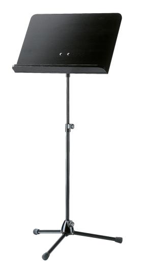 K & M - Muziekstandaard professional, kleur zwart