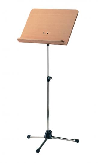 K & M - Muziekstandaard professional - notenfineer/chroom