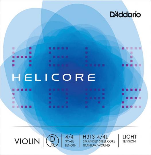 D´ADDARIO Helicore - vioolsnarn - D snaar - light - 4/4