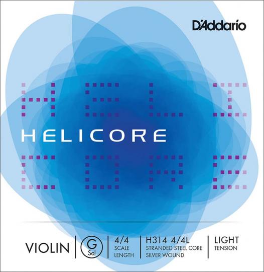 D´ADDARIO Helicore - vioolsnaren - G snaar - light - 4/4