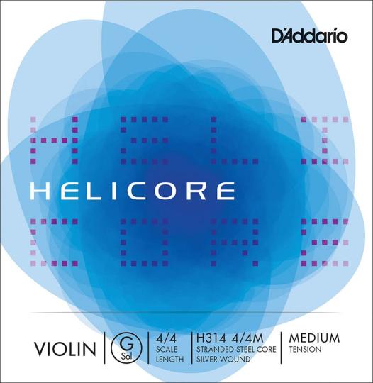 D´ADDARIO Helicore - vioolsnaren - G snaar - 4/4