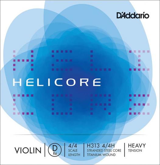 D´ADDARIO Helicore - vioolsnaren - D snaar - strong - 4/4