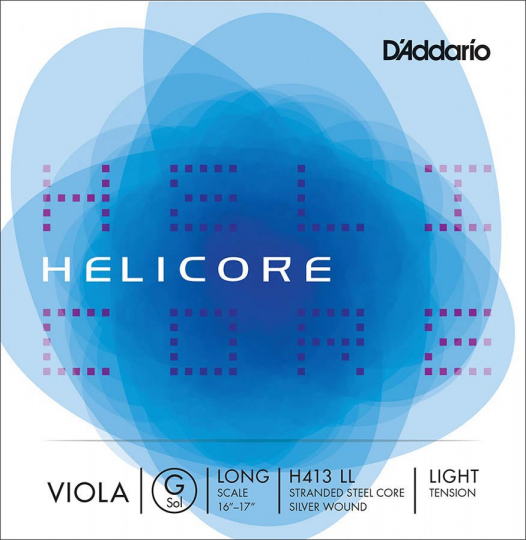 D´ADDARIO  Helicore G-altvioolsnaar, light