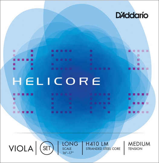 D´ADDARIO Helicore - Set altvioolsnaren - medium - Long Scale