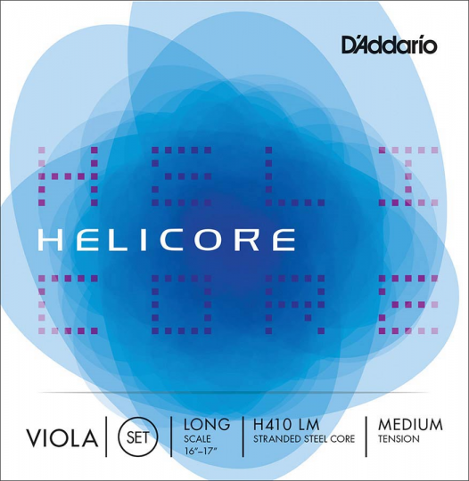 D´ADDARIO  Helicore Set-altvioolsnaren, light
