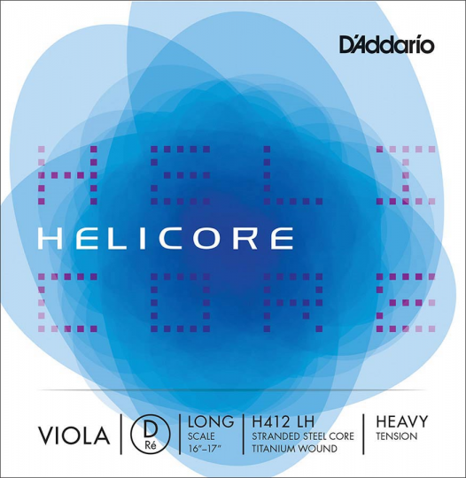 D´ADDARIO  Helicore D-altvioolsnaar, strong