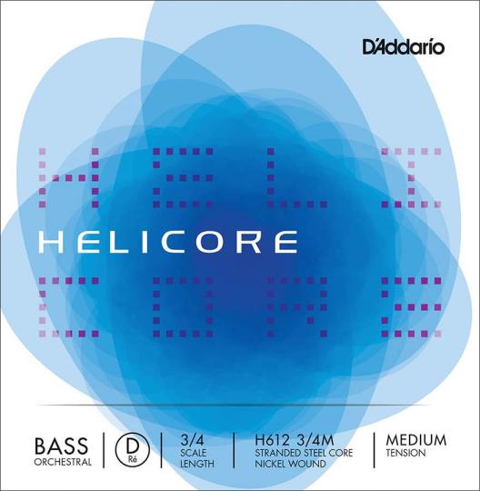 D´ADDARIO  Helicore D snaar contrabas  - H 612
