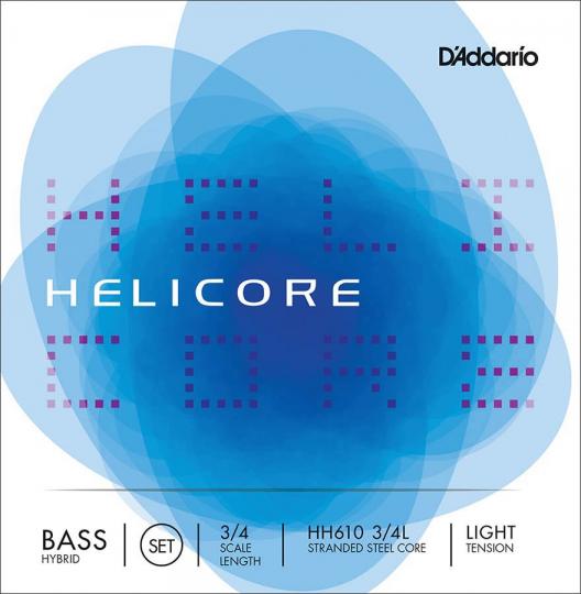 D´ADDARIO  Helicore Set snaren contrabas  - HH, light