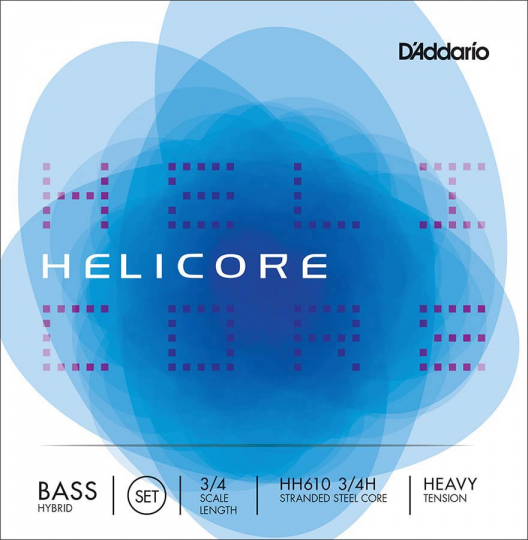 D´ADDARIO  Helicore Set snaren contrabas  - HH, forte