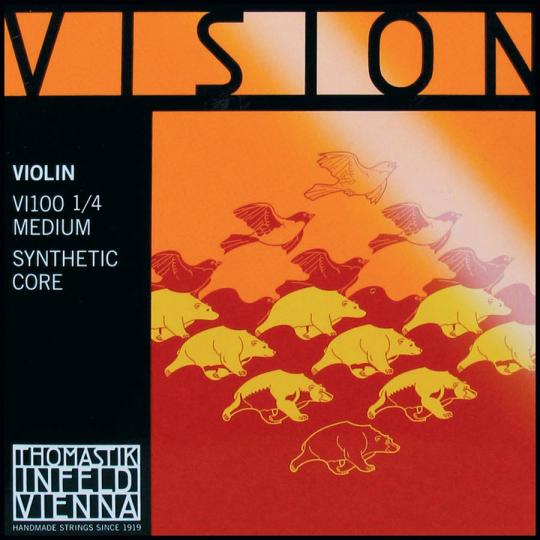 THOMASTIK  Vision Set 1/4 vioolsnaren, medium