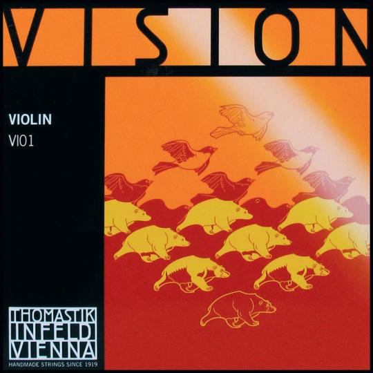THOMASTIK  Vision  E-snaar, voor viool, medium