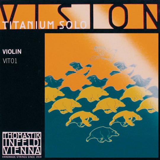INFELD *VISION* Titanium E-snaar voor viool, medium