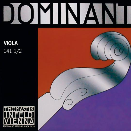 THOMASTIK  Dominant Set voor altviool, 1/2 lengte 33 cm
