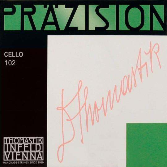 THOMASTIK  Präzision Set voor cello, 4/4, medium