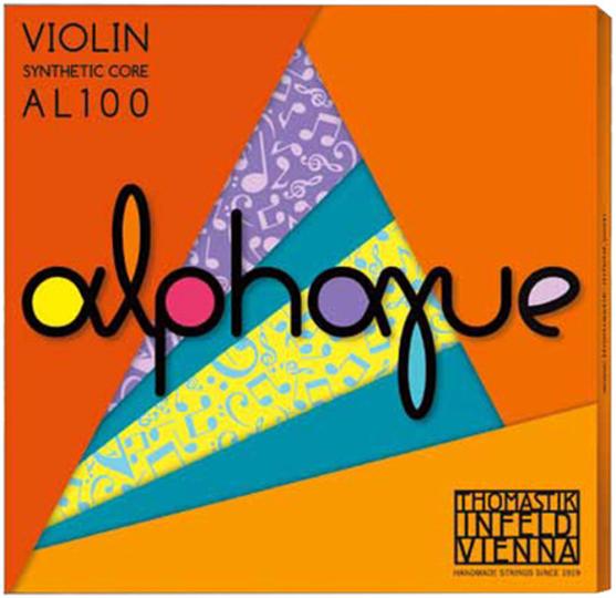 THOMASTIK Alphaue Set vioolsnaren, medium