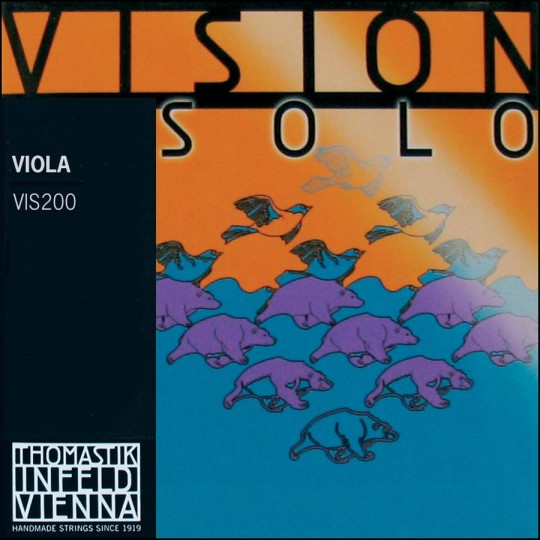 Thomastik Vision Solo, Set altvioolsnaren, medium