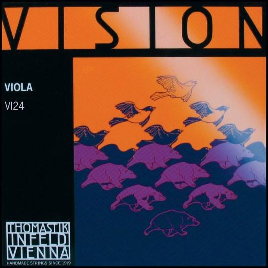 THOMASTIK Vision C-snaar voor altviool, wolfraam, medium