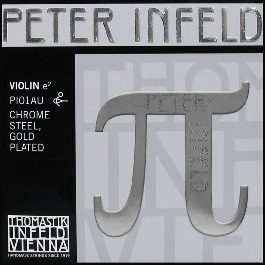 E-Snaar Peter Infeld PI, goud