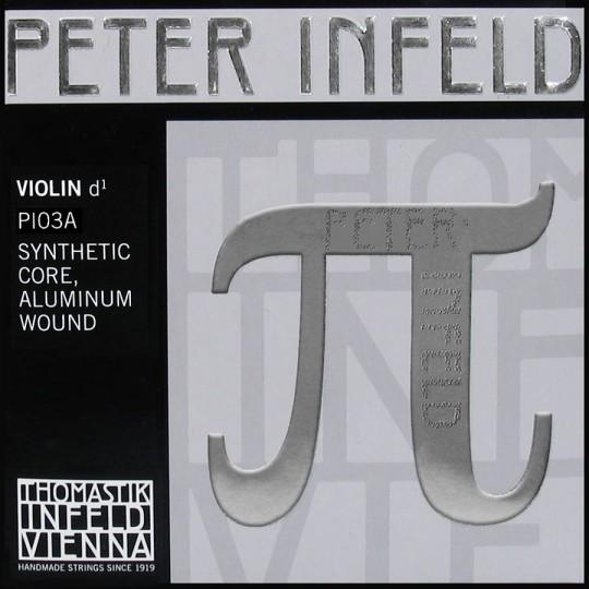 D-Snaar PETER INFELD PI03, kunststof zilver