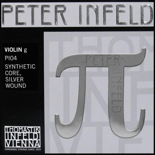 G-Snaar PETER INFELD PI04, kunststof zilver