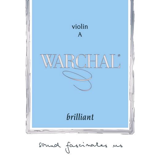 WARCHAL Brillant  A- snaar voor viool, hydronalium, medium