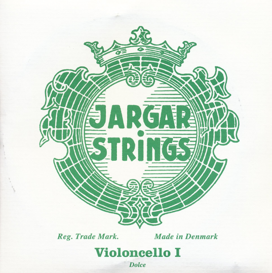 JARGAR Set voor violoncello, chroom/zilver, dolce