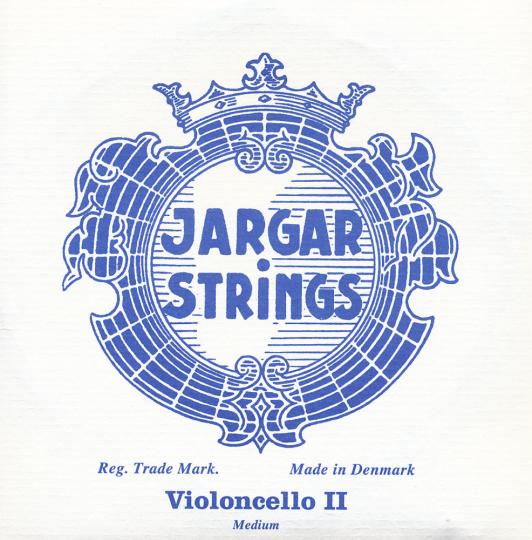 JARGAR D- snaar voor violoncello, chroom