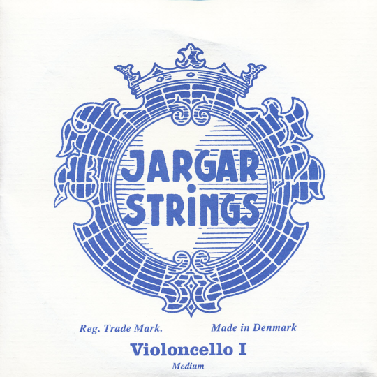 JARGAR Set voor violoncello, chroom