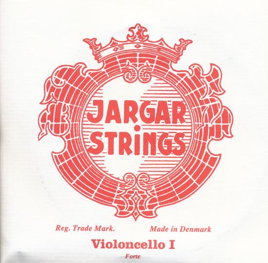 JARGAR Set cellosnaren, chroom, forte