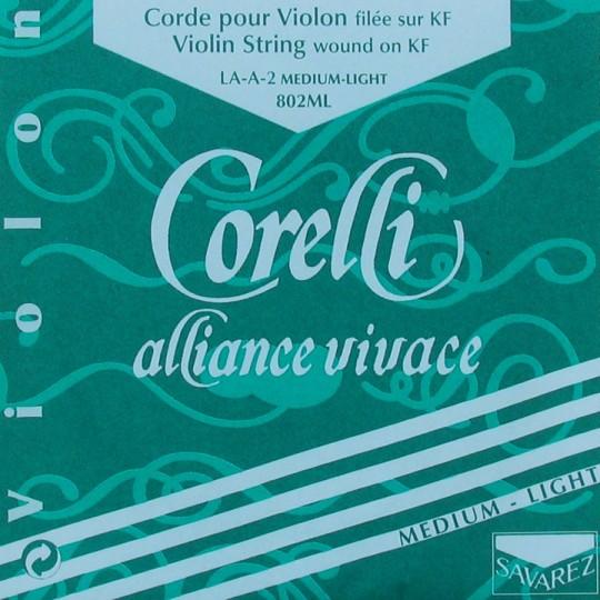 CORELLI Alliance - vioolsnaren - A snaar - med.light - 4/4