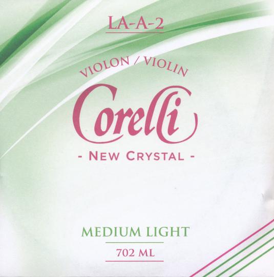 CORELLI Crystal - vioolsnaren - A snaar - med.light - 4/4